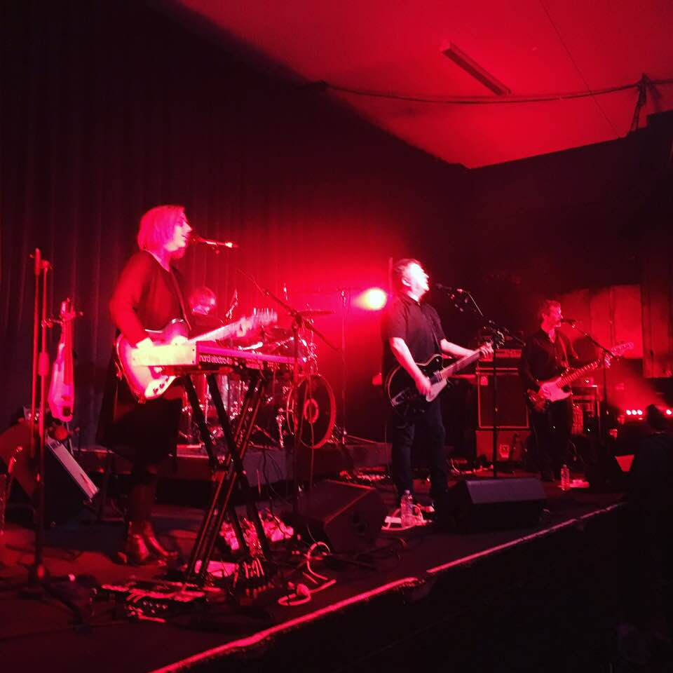 The Chills played The Mayfair